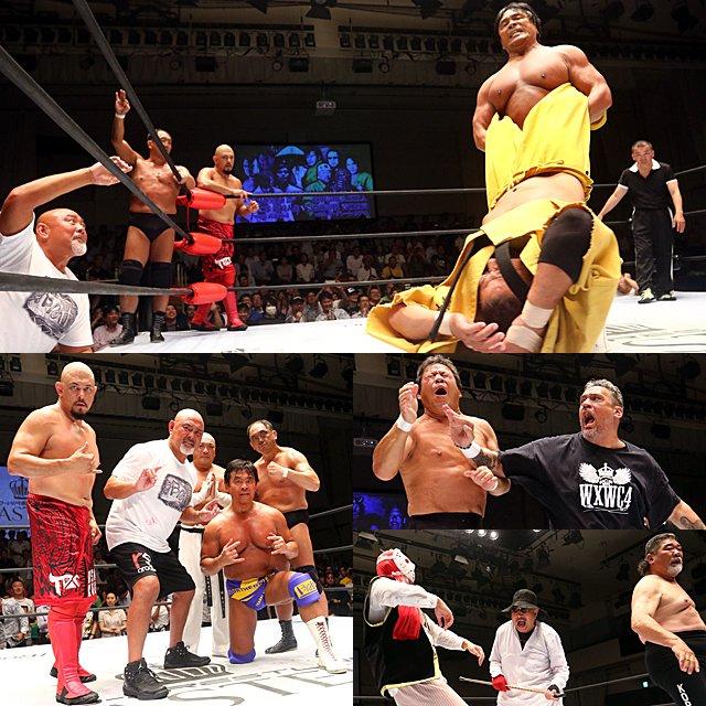 """Keiji Mutoh Produce: """"Pro-Wrestling Masters 4"""" El regreso de BATT 9"""