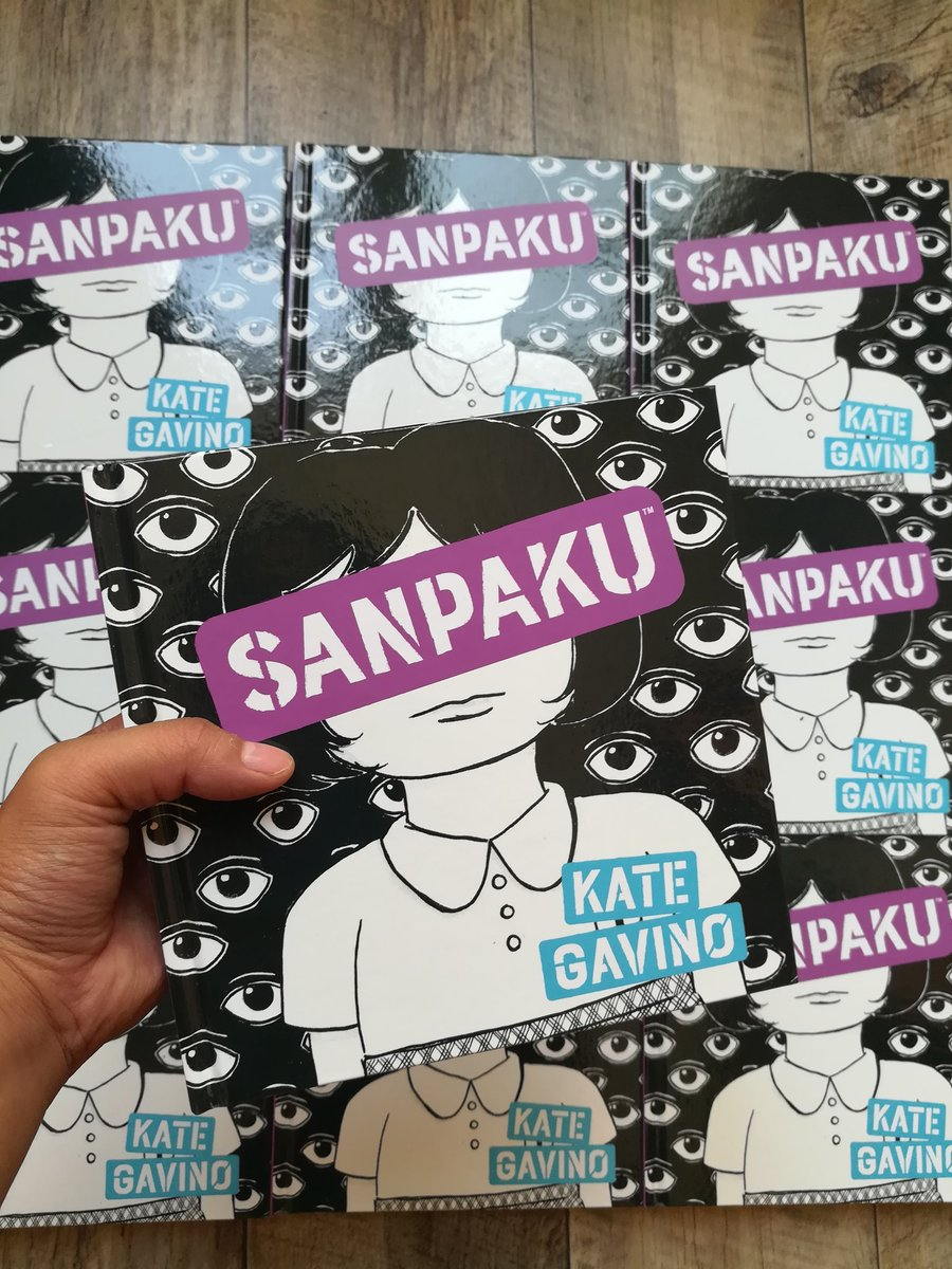 Sanpaku is out in bookstores today! I loved working with @Archaia, @boomstudios & @kate_mckean to create this book. Im thrilled to go on tour this week & be in conversation with artists & writers who inspire me: bit.ly/SANPAKUtour
