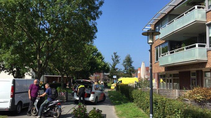 Ongeluk bij Vijverberg Westerhonk Monster tussen twee fietsers. Een persoon gewond in ambulance https://t.co/32YmchSh0G