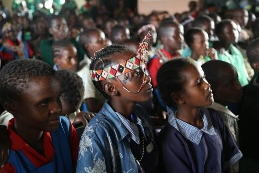 """Did you know that Koota Injena is a Borana word meaning, """"come, let's talk""""? And that's what it's going to take to #StopFGM and early child marriages  in Samburu and Marsabit: https://t.co/l1pFXAlZss @Amref_Kenya#USAIDTransforms"""