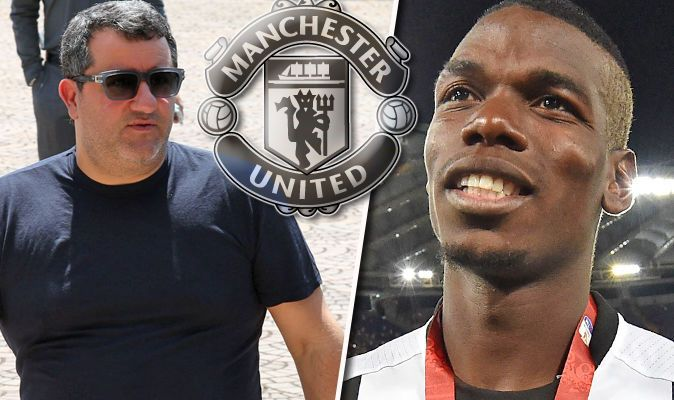 Image result for paul pogba dengan agen mino raiola