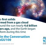 Image for the Tweet beginning: AGU is releasing 100 Facts