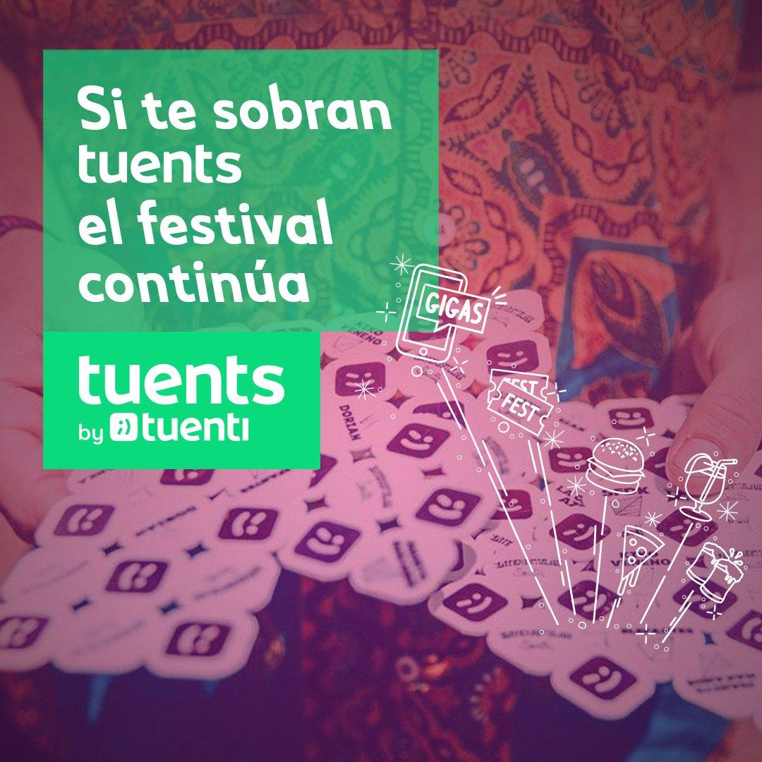 ¿Te han sobrado Tuents by @TuentiES ? Puedes seguir usándolos en gigastuenti.es seas o no cliente de Tuenti. Gigas, descuentos en comida y mucho más.