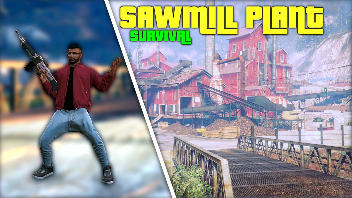 Sawmill Plant SOLO Survival Guide GTA 5 - REACH AND COMPLETE WAVE 10 EASILY  Instagram: @Darshzo   ►https://youtu.be/BThjXYmrFfM  ◄ #YouTube #GTAOnline #gtasurvival #GTA5 #GTApic.twitter.com/LtGVJ9fPRZ