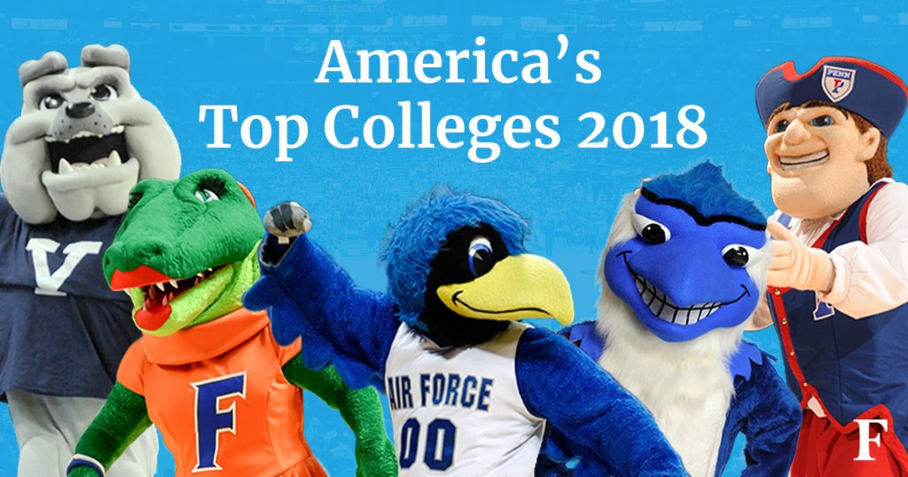 Introducing America's #TopColleges of 2018: https://t.co/fBrLZnYsab https://t.co/1FldxBqeTT