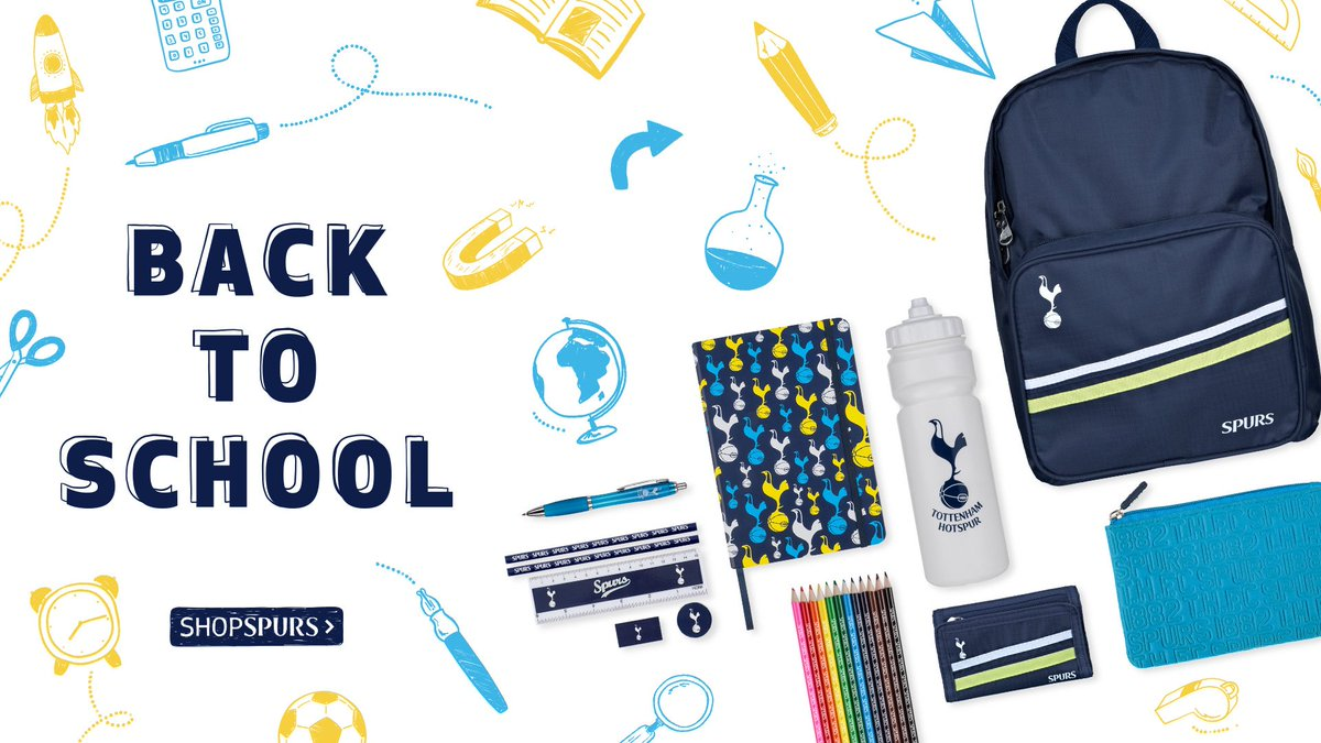 Tottenham Hotspur On Twitter Back To School With Spurs Our New Stationery Collection Has Everything Your Child Needs For The Start Of Term Https T Co Ucmjtl9eqv Coys Https T Co Mflozpvnpk