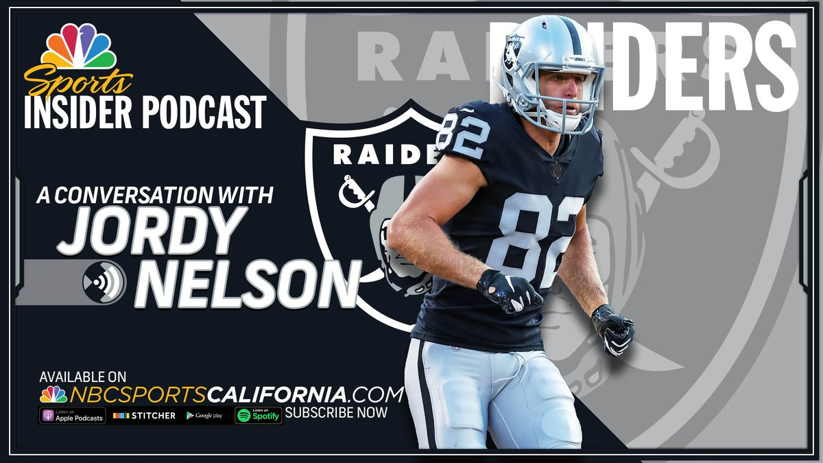On this weeks episode of the Raiders Insider Podcast, @BairNBCS talks to wide receiver Jordy Nelson. Listen now: bit.ly/2Jh9u9J