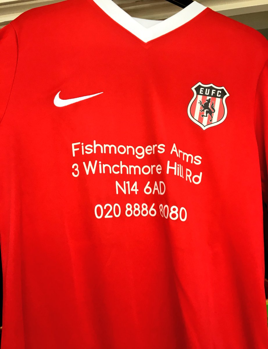Proud to unveil our brand new Nike home strip for the 2018/19 season  We would like to take this opportunity to thank our sponsors The Fishmongers Arms for their support over the summer, as we look to build on a great first season and take the club to the next level!  Up the EUFC <br>http://pic.twitter.com/TX5QqxmhSY