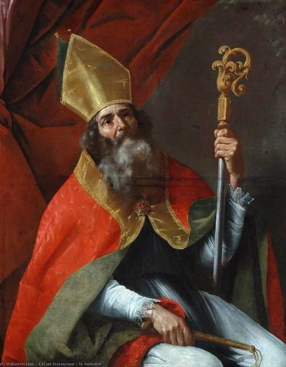 Kết quả hình ảnh cho thánh ambrosio giám mục