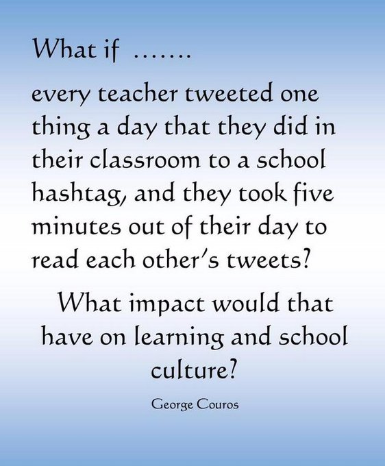 @SaraKiffe A1. My second suggestion - @gcouros and @aaron_hogan have the best ideas! ❤️👍❤️