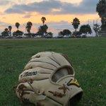Image for the Tweet beginning: Mizuno Pro + California sky