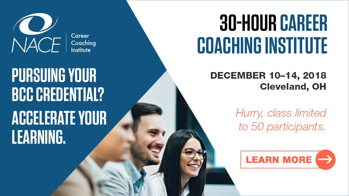 Nace On Twitter Nace Career Coaching Institute Where Attendees