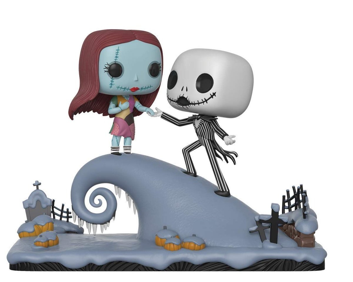 fat kid deals on twitter go quick nightmare before christmas jack and sally on the hill is now available for pre order httpstcox7scnth0od