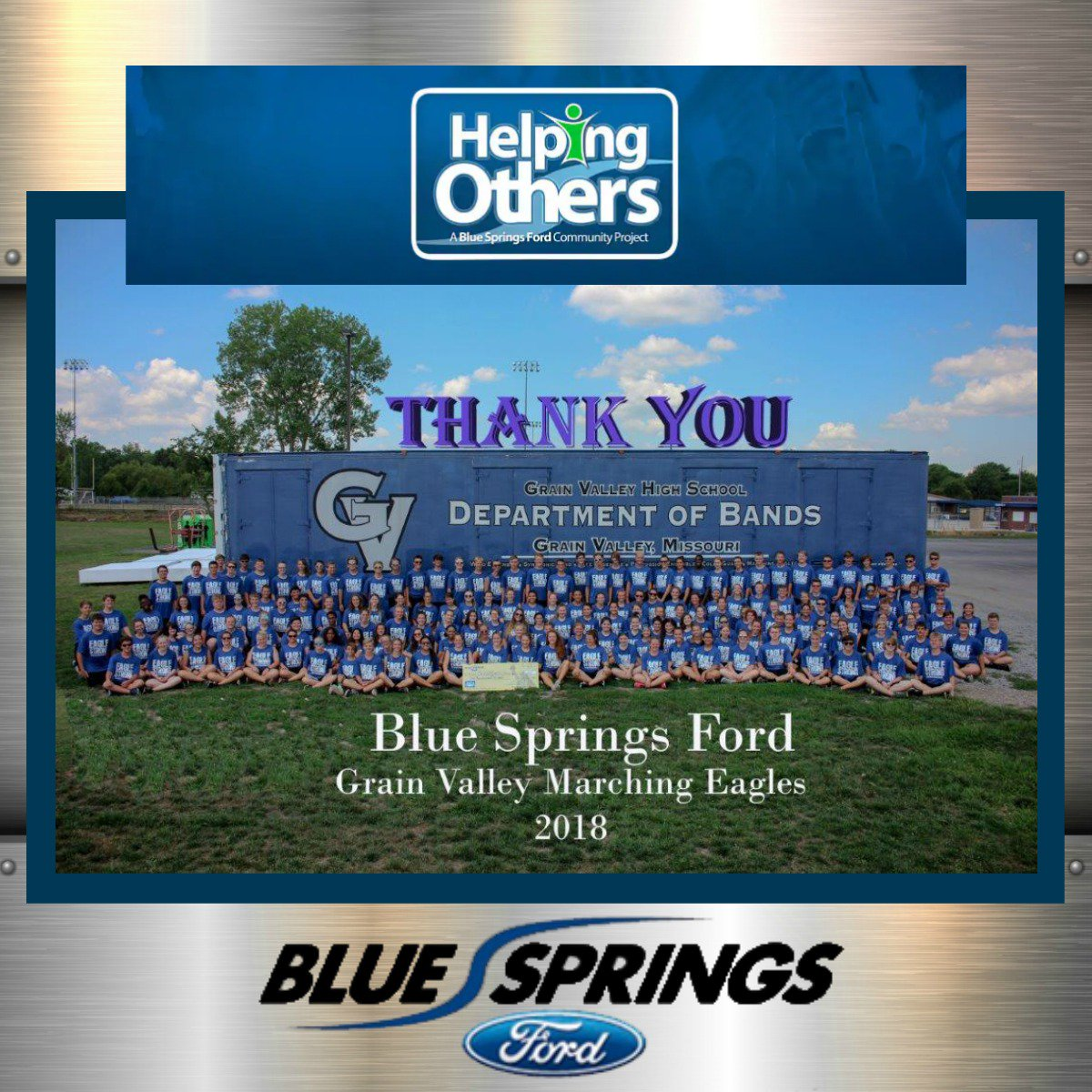 Blue Springs Ford On Twitter Congratulations To Grain Valley Band