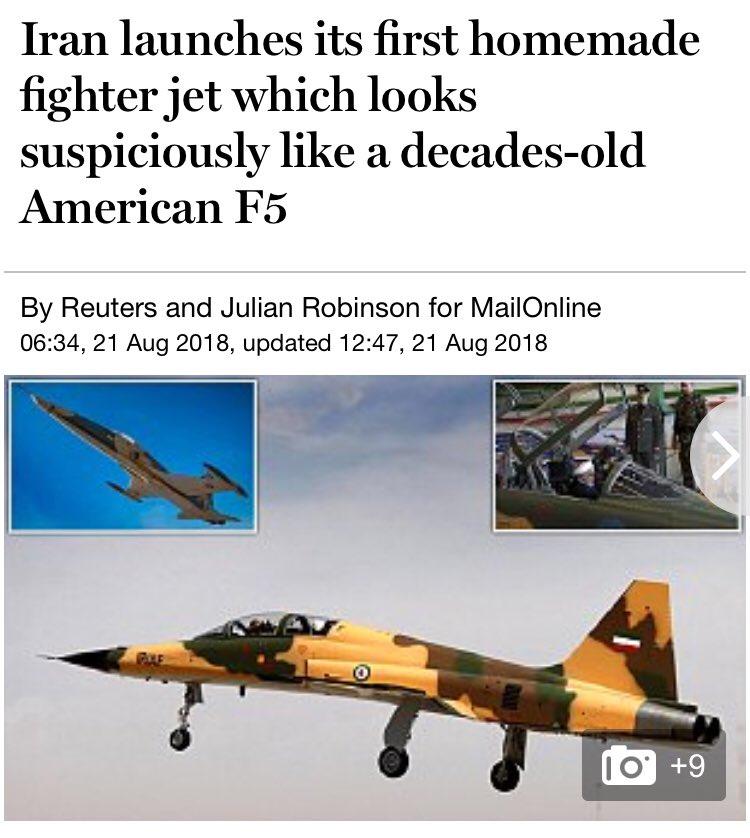 """ما وراء الطائرة الإيرانية الأحدث """"كوثر"""" DlJMgudXcAIDY6_"""