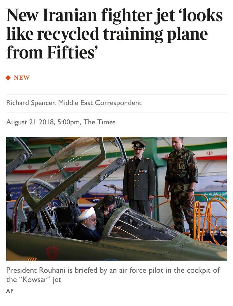 """ما وراء الطائرة الإيرانية الأحدث """"كوثر"""" DlJMgueX0AALohv"""