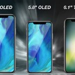 Apple #NextiPhone launch might be on 12th September while preorders might start from 14th September.  3 models: 5.8-inch OLED (updated iPhoneX) 6.5-inch OLED model (bigger, better iPhoneX) 6.1-inch LCD model (economical version)