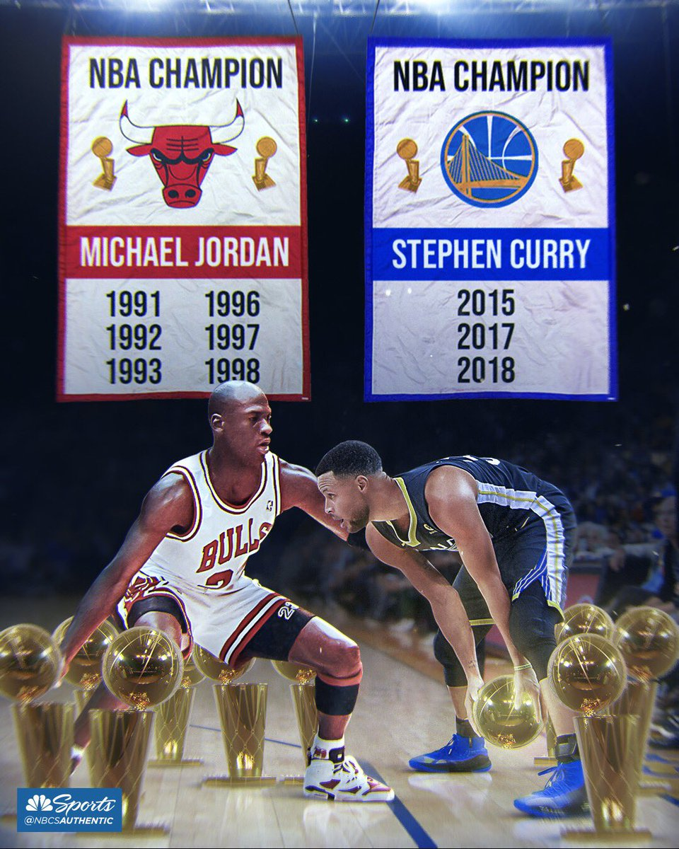 Will Steph catch the 🐐 in 🏆?