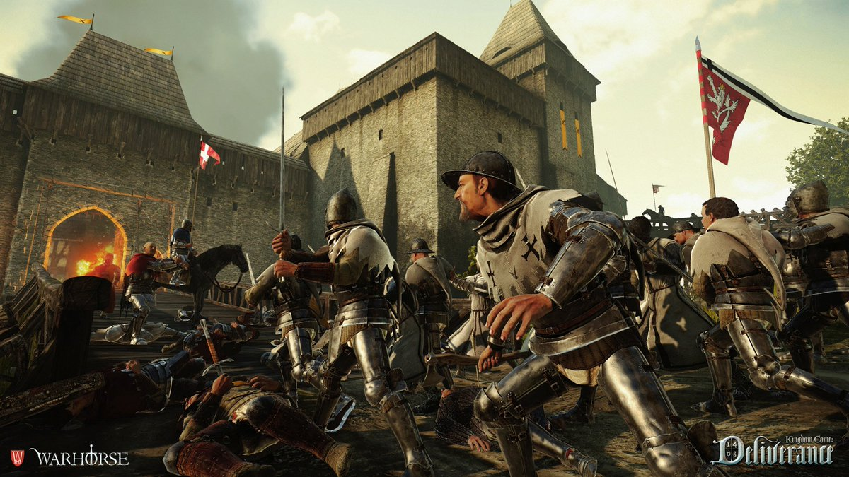 [Live Now]⚔️ Kingdom Come: Deliverance - Checking out the recent DLC Right Now 😀👍 ⬇️⬇️⬇️ 📣twitch.tv/skipunda_ @rick5292 @T0_8I @JRtheHitman @WarhorseStudios @kcdfanpage