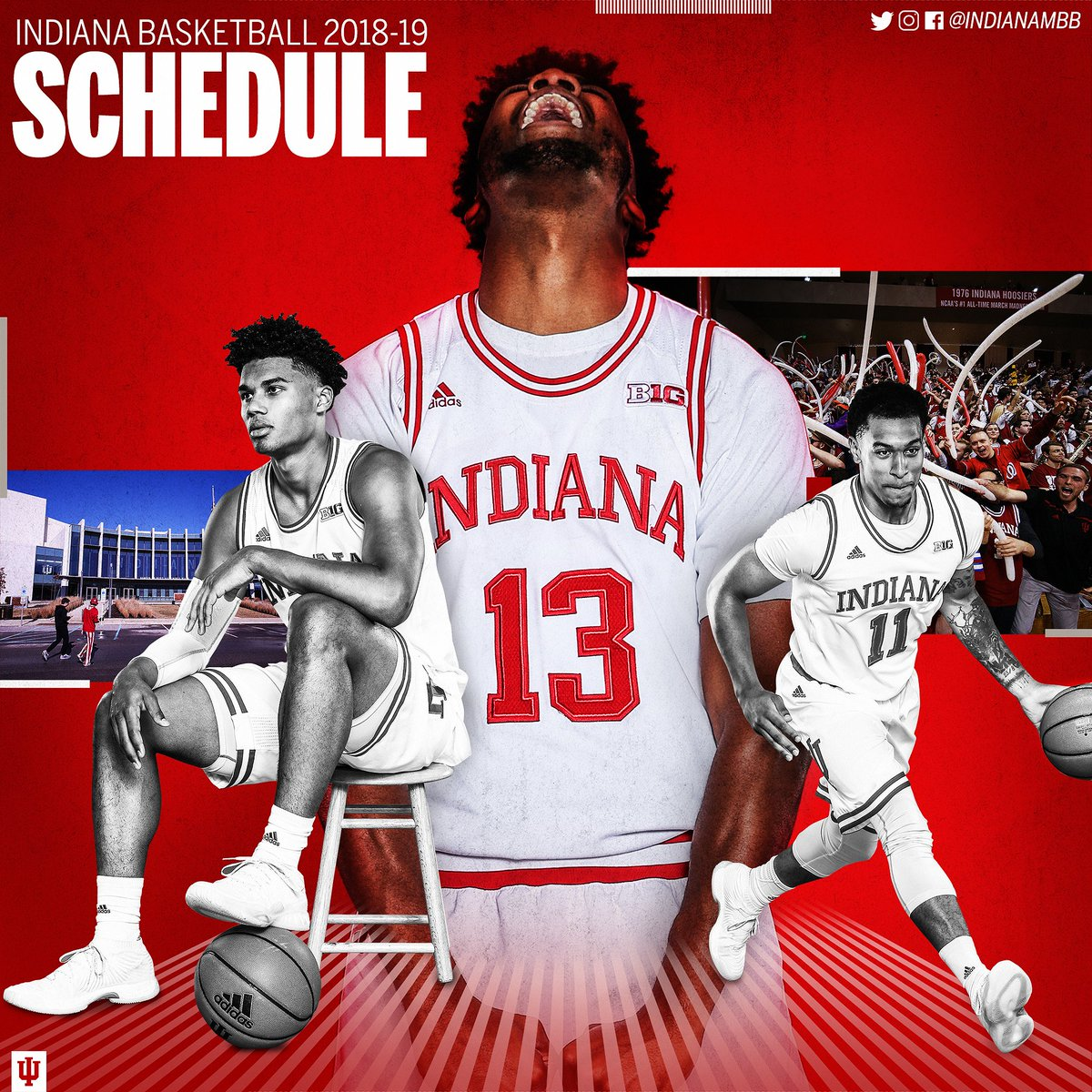 "indiana basketball on twitter: ""📅 the 2018-19 #iubb schedule is"