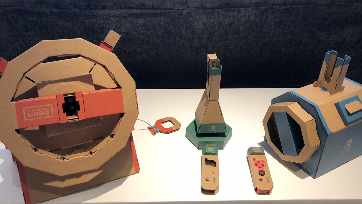 Nintendos next Labo kit, the Vehicle Kit, is more of an open-world game. bit.ly/2BzX3Cs