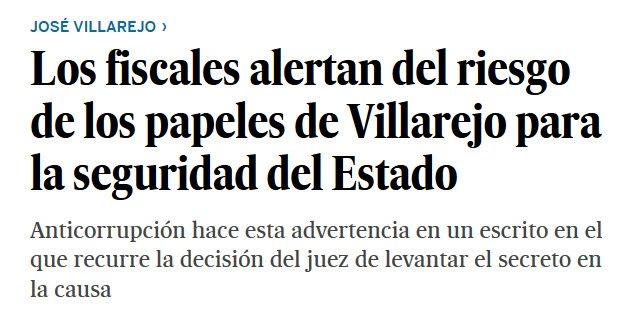 Vaya, vayita con los manteros Villarejo y Corinna...