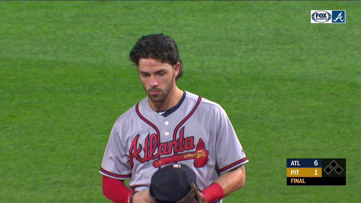 Kevin Gausman: 8 shutout innings Dansby Swanson: 2 home runs @Braves: WIN