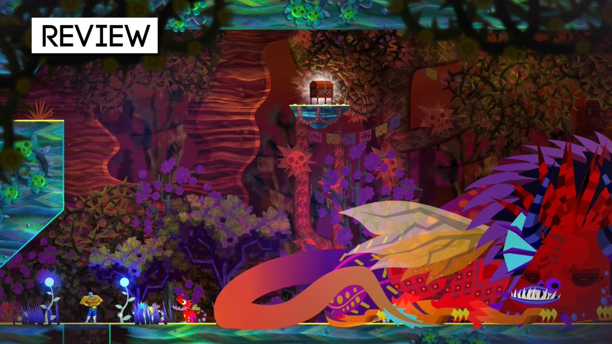 Guacamelee 2 feels unique and unrivaled, even if the whole doesnt surpass the sum of each amazing part. Our review: bit.ly/2wi0doB