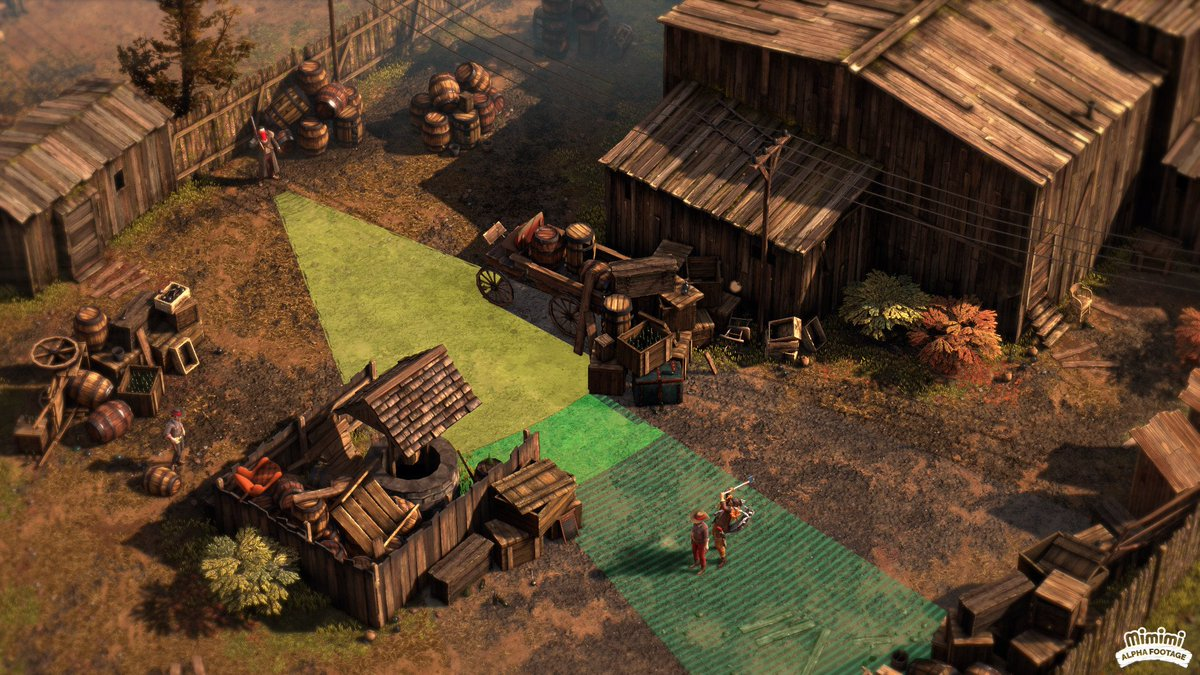 The Shadow Tactics team are making a Western. bit.ly/2MBmFDl