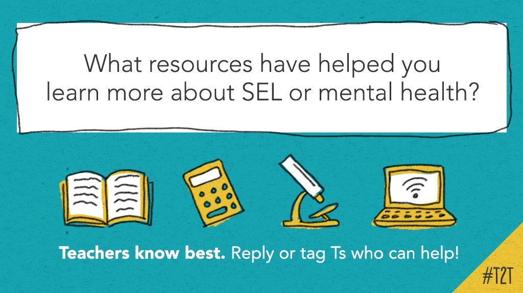 Share here with T @KipHottman! #SELchat #SEL #edchat