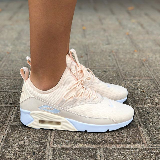 Details about Nike Women Air Max 90 EZ AO1520 801 New PinkGuava Ice Fashion Casual Shoes Sz 9