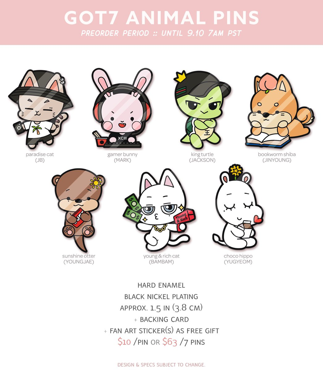 Kpop Got7 Jackson Wang Fanart Postcard Post Cards Sticker Artbook Gift Cosplay Props Book Set Collection Novelty & Special Use