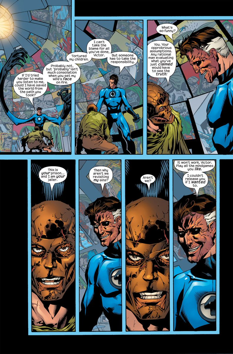 Mark Waid On Twitter Fantastic Four By And Mike Wieringo Ultimate Collection Book Three Pg 103 Https T Co 0p9exwyodh