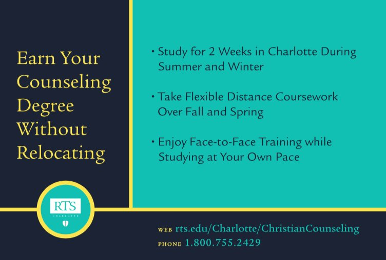 Rts Charlotte On Twitter Earn Your Counseling Degree Without