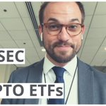 Image for the Tweet beginning: What is a #bitcoin ETF?