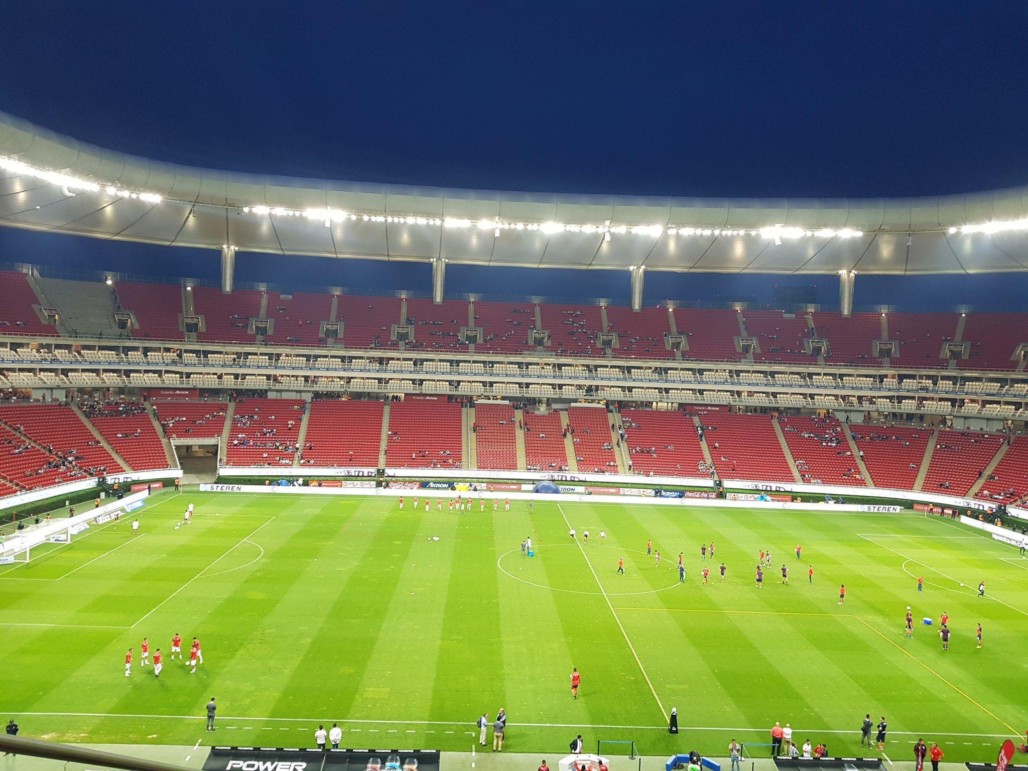 Chivas ganó 1-0 al los Rayos del Necaxa