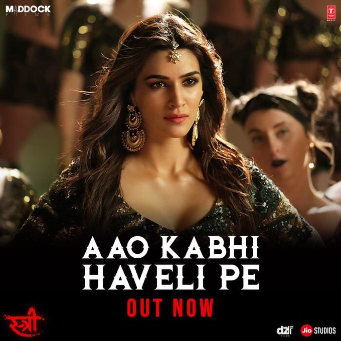 .@kritisanon killing it with her moves in #AaoKabhiHaveliPe! @RajkummarRao @Its_Badshah bula rahein hain