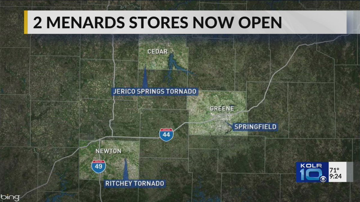 Two Menards Stores Open in Springfield dlvr it/QghDdq https