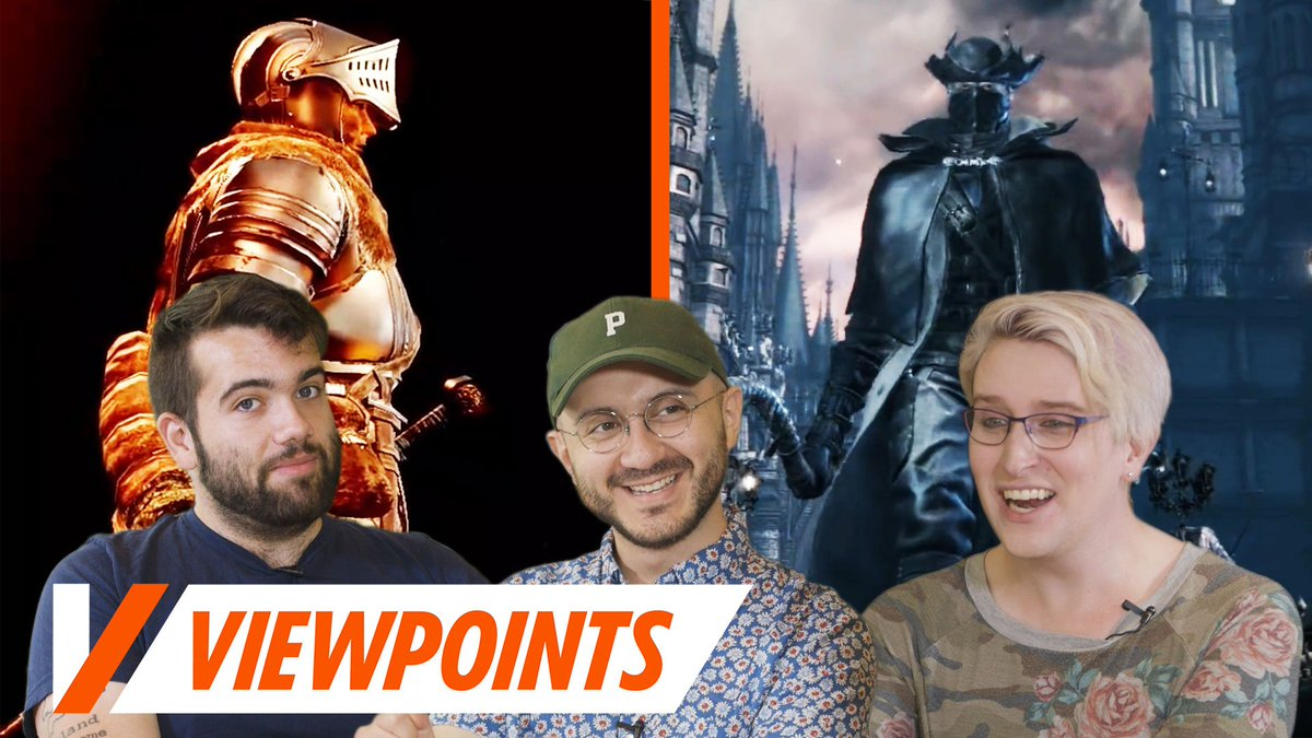 Which game should we play before Sekiro—Dark Souls, or Bloodborne? We discuss on todays Viewpoints: bit.ly/2BzqTqK