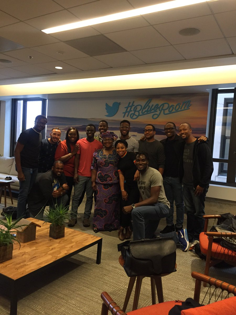 In San Francisco with the young, passionate and brilliant African and African American staff of , the Blackbirds. Thank you for your work and commitment.