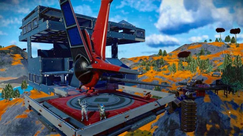 No Mans Sky players are building bases in exchange for charitable donations. bit.ly/2MGX1gs