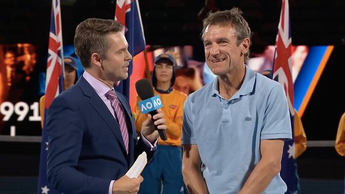 We love having Mats Wilander at the Happy birthday to our 3x champion