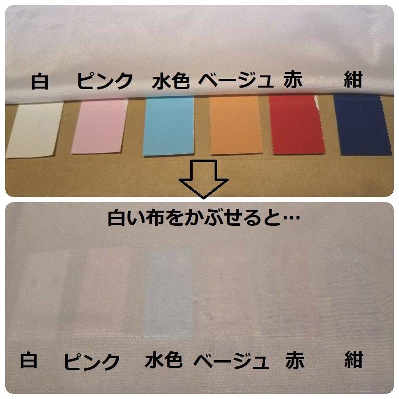 校則で下着の色が白と決められているという記事をよく見かけます。理由で多く見るのが「透けないように」。下着屋として言わずにいられないので簡単な検証をしました。肌よりも薄い淡い色はとっても透けます。透けないようにが目的の校則であれば是非キャミなどインナーの着用をお勧めします🙇♀️