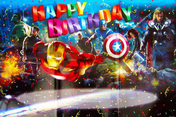 Для открытки, открытки марвел с днем рождения