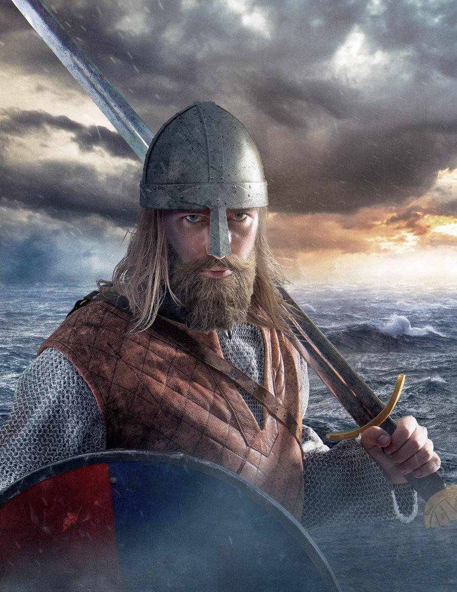 Очках, картинка с викингами