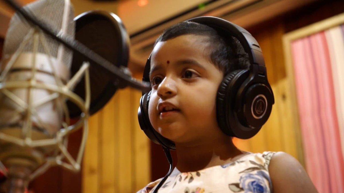 Sivakarthikeyan's Daughter makes a singing debut in Kanaa