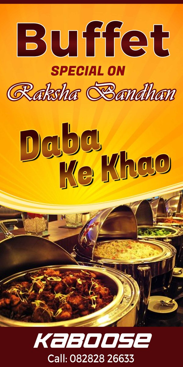 Kaboose restaurant kabooserestro twitter this festive season eat all you can at kaboose enjoy unlimited buffet 399 book in advance for the buffet call us 82 82 82 66 33 kaboose restaurant forumfinder Images