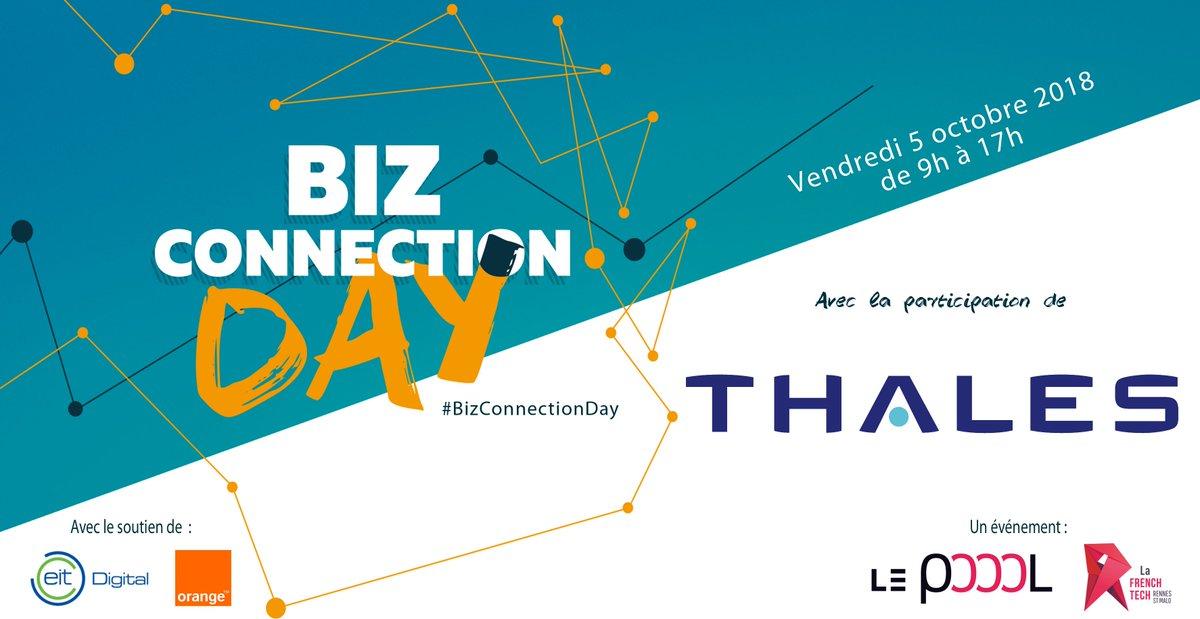 Rappel Biz Connection Day :  finalement le 15e de la liste est La Ruche by Thalès ! #BizConnectionDay https://t.co/GygCpbNIyS