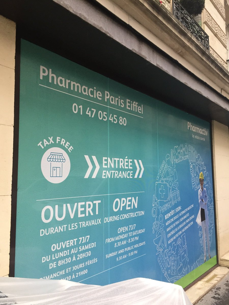 test Twitter Media - Currently working with @Pharmactiv on a new project in #Paris in #France! Pharmacie Paris Eiffel currently undergoing renovations by JCC! More to Follow! https://t.co/tld4pxuWoU