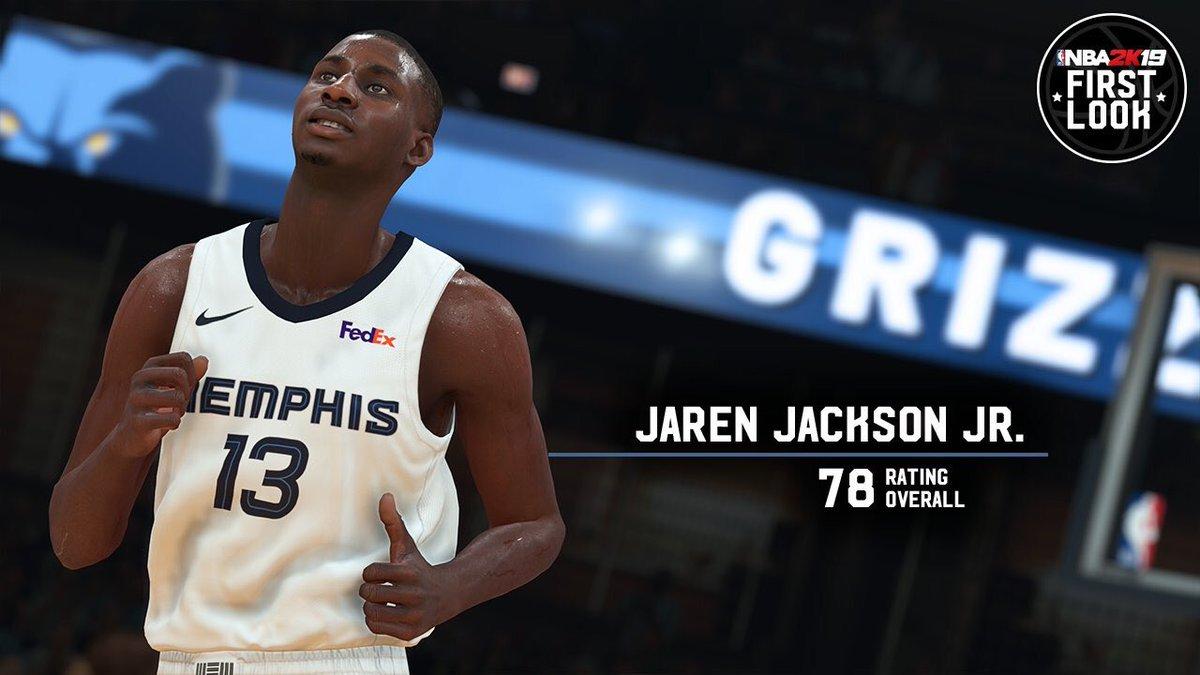 bce08a821ce La sortie de NBA 2K19 approche et désormais ce sont les joueurs qui  dévoilent leur note et il faut bien dire que la dernière fournée n est pas  très ...